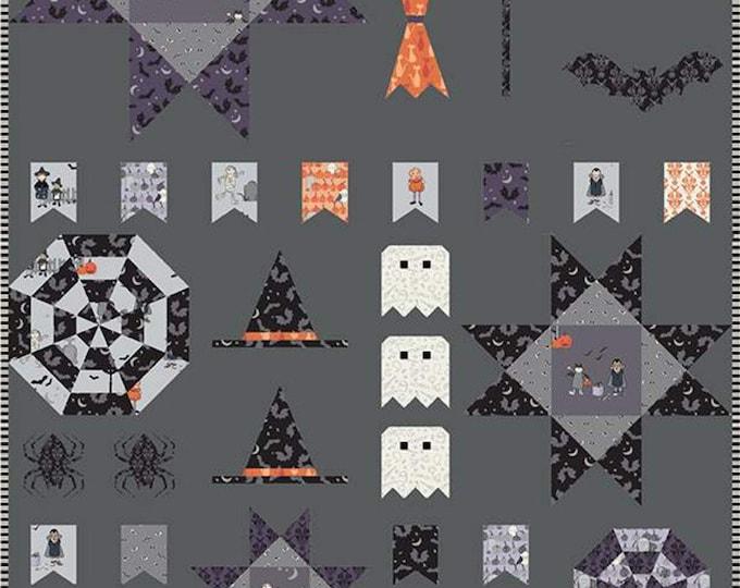 Melissa Mortenson Spooky Sampler Quilt Pattern From Polkadotchair.com