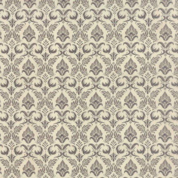 Black Tie Affair by Basic Grey 30421-12 Fleur De Lis Natural Moda 100% Cotton Fabric