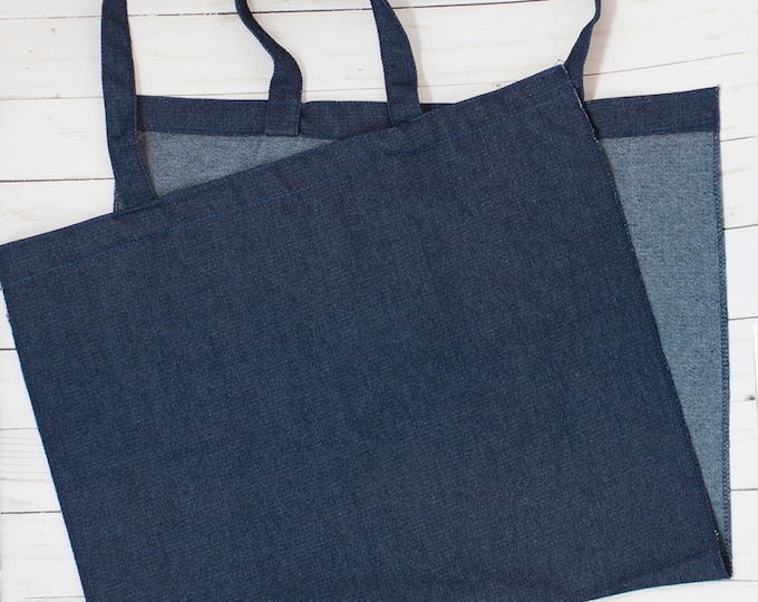 """Denim Tote Blank by Kimberbell Kimberblank Finished Size 17""""x15"""" Tote Blank"""