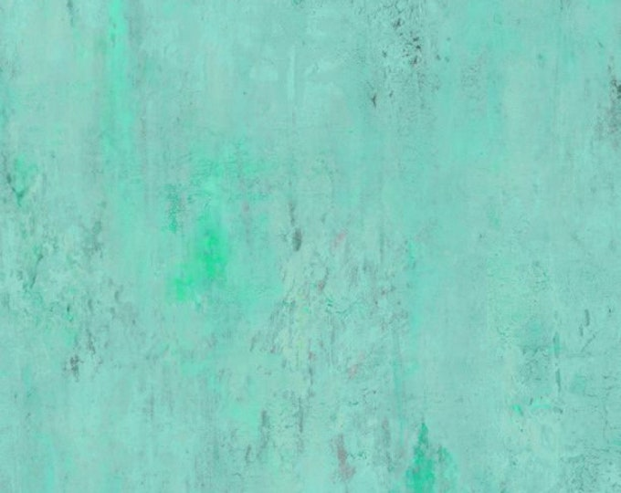 """Vintage Texture Turquoise by Wilmington Prints 89233-407 44"""" wide 100% Cotton Fabric"""