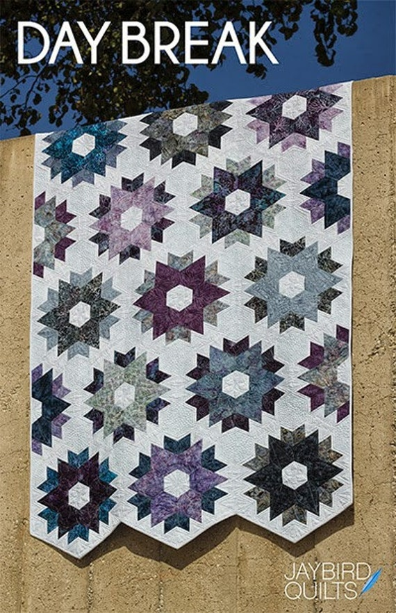 Daybreak from Jaybird Quilts PATTERN ONLY No Y Seams! JBQ136