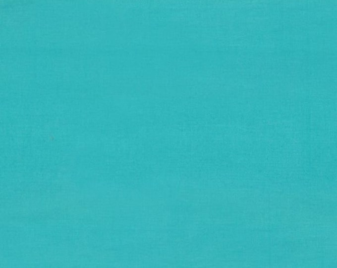 """Solid Turquoise Batik from Wilmington Prints #174 100% cotton 44/45"""" wide fabric"""
