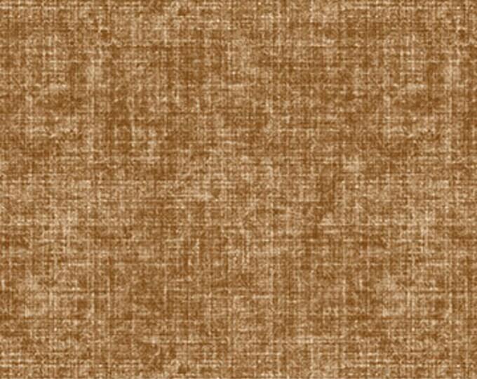 """Northcott City Lights Linen Texture Rust 23962-34- 100% Cotton 44/45"""" wide fabric"""