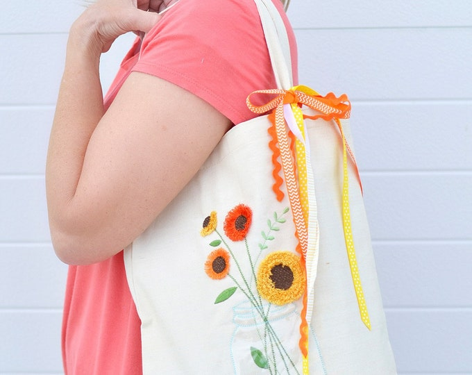 """Canvas Tote Blank by Kimberbell Kimberblank Finished Size 12""""x15"""" Tote Blank Open Side"""