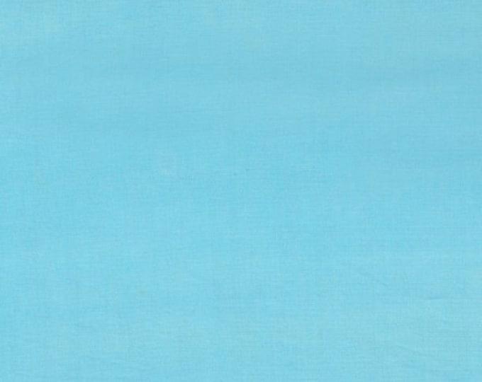 "Solid Pale Blue Batik from Wilmington Prints #114 100% cotton 44/45"" wide fabric"