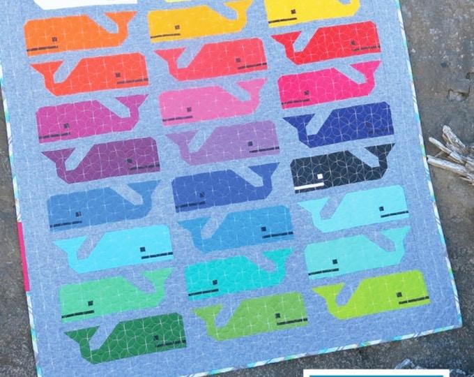 Elizabeth Hartman Preppy The Whale Quilt Pattern Only