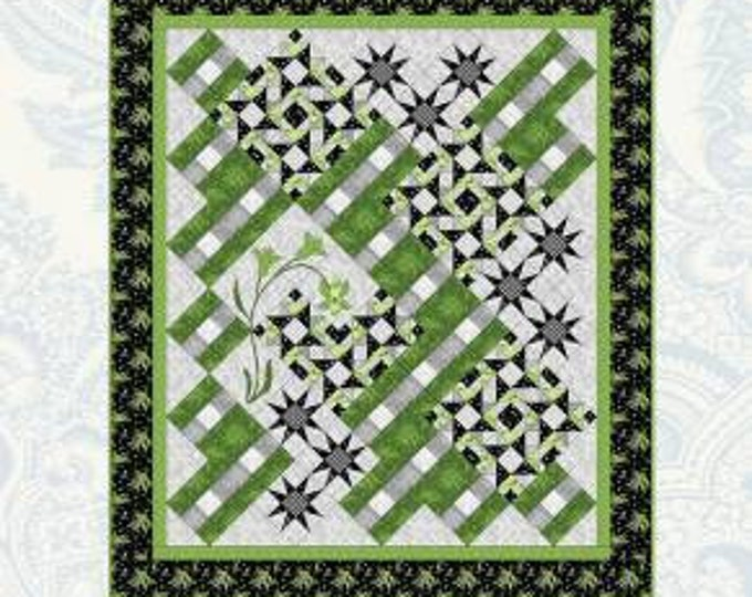 How Green is My Garden? Pattern Only by Bound to be Quilting