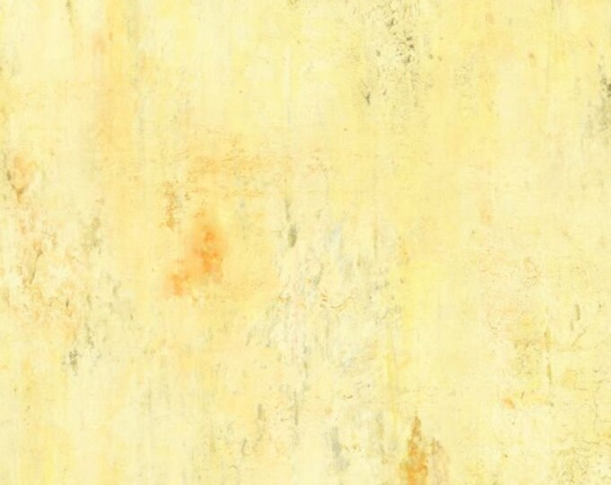 """Vintage Texture Butter Yellow by Wilmington Prints 89233-155  44"""" wide 100% Cotton Fabric"""