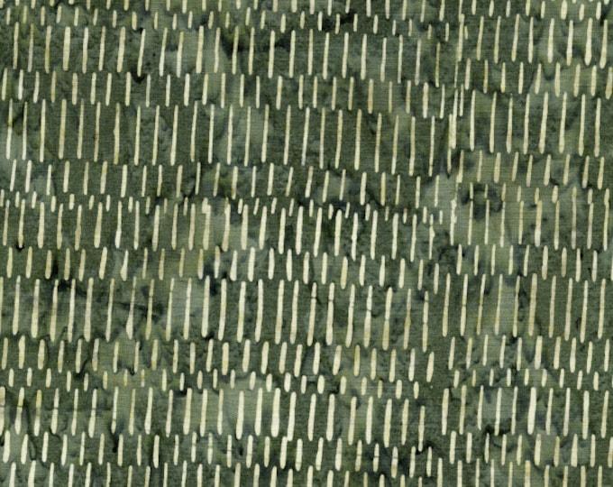 "Grass Short Lines  by Island Batik 411802656   100% cotton 44/45"" wide fabric"