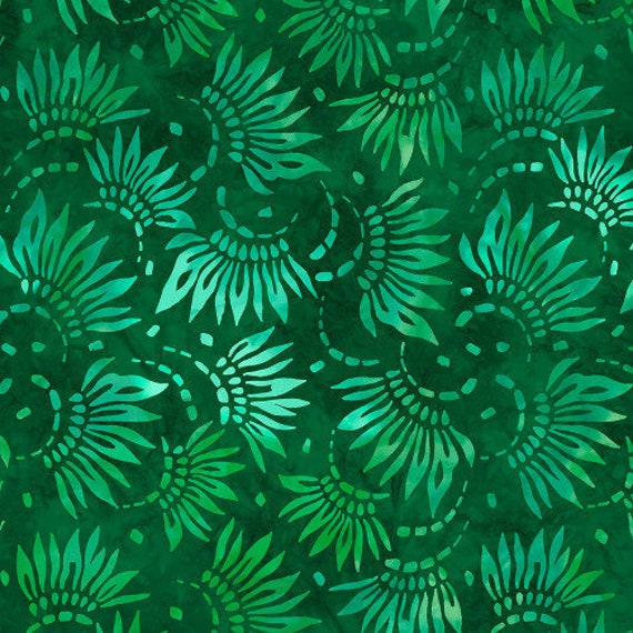 WIDEBACK Essential Petals Green Wilmington Prints 108-inch Extra Wide Cotton Fabric Yardage Backing Fabric