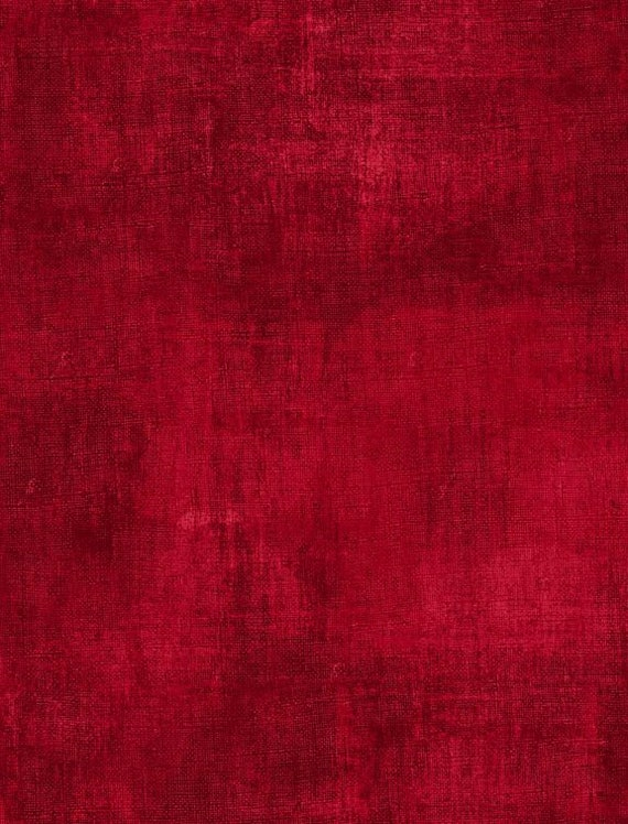"Dry Brush by Wilmington Prints   Cherry Red   44"" wide 100% Cotton Fabric"