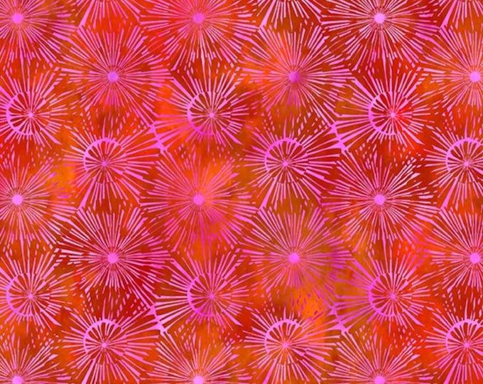 Urban Jungle Pink Burst Yenter In The Beginning Fabrics Digital 44-inch Wide Cotton Fabric Yardage 100% cotton
