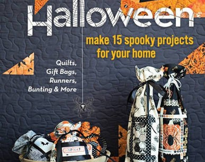 Sew a Modern Halloween - Make 15 Spooky Projects For Your Home by Riel Nason - Paperback
