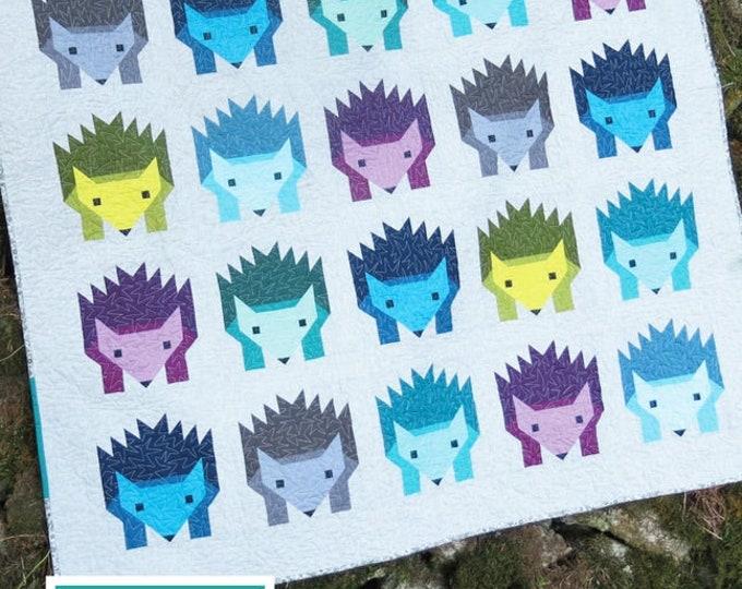 Elizabeth Hartman Hazel Hedgehog Quilt Pattern Only