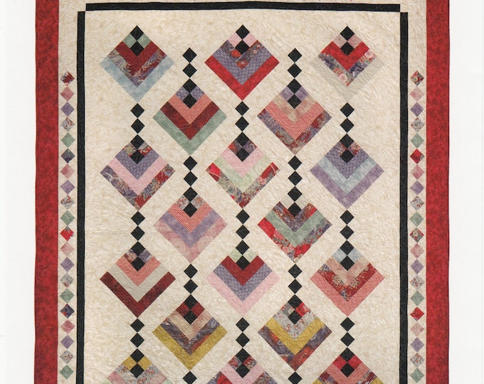 Hanging Gardens  from Cozy Quilt Designs 3 sizes Pattern Only