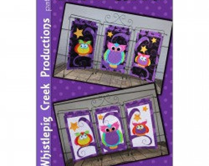 Three Hoots PATTERN ONLY by Whistlepig Creek Productions