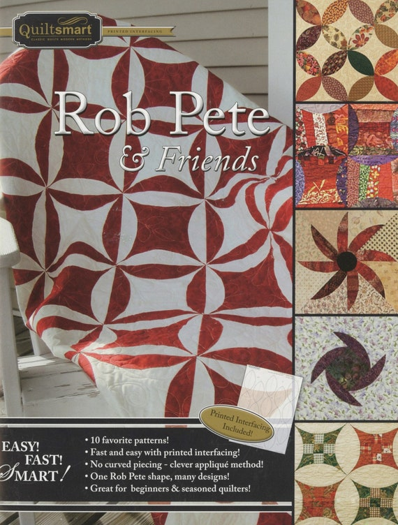 Rob Pete & Friends by Quiltsmart Patterns and preprinted interfacing
