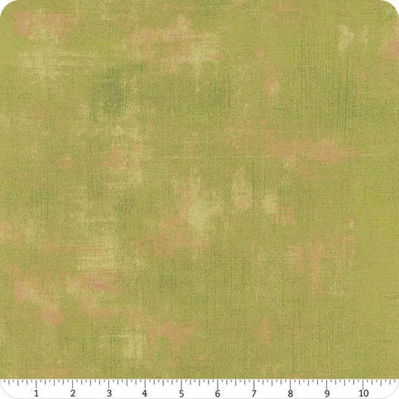 Moda Basic Grey Grunge Spearmint  30150-83 44-inch Wide Cotton Fabric Yardage