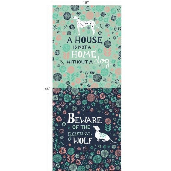 Urban Jungle 1/2 Yard Panel by Vicky Yorke  Camelot Fabrics 100% cotton (#30)