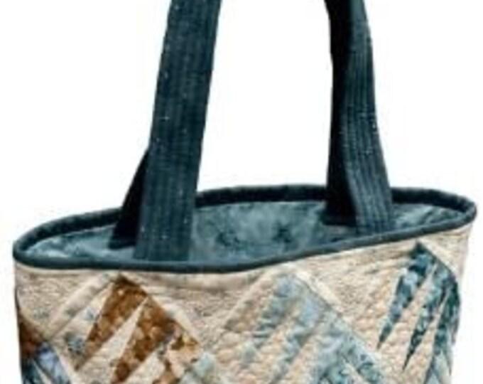 """Larisa Key Designs Zebra Tote Pattern Only 13.5""""x15""""x5"""""""