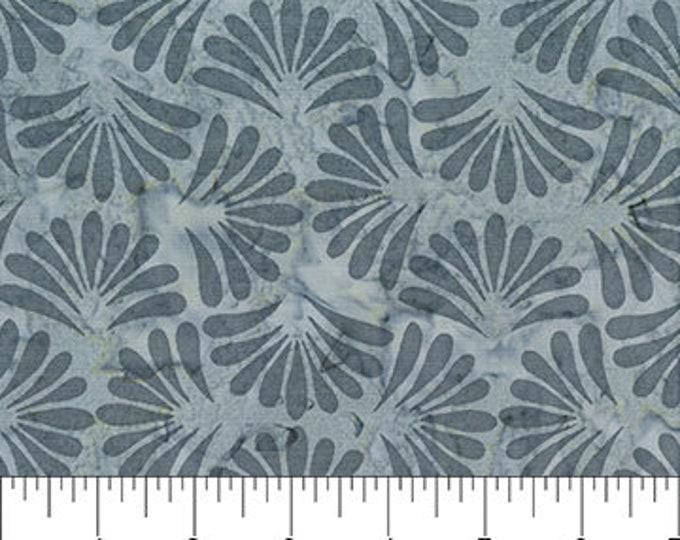 "Grey Fans by Banyan Batiks  81202-91 - 100% Cotton 44/45"" wide fabric"