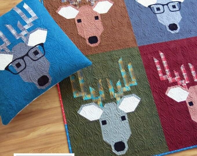 Elizabeth Hartman Dwight The Deer Quilt Pattern Only