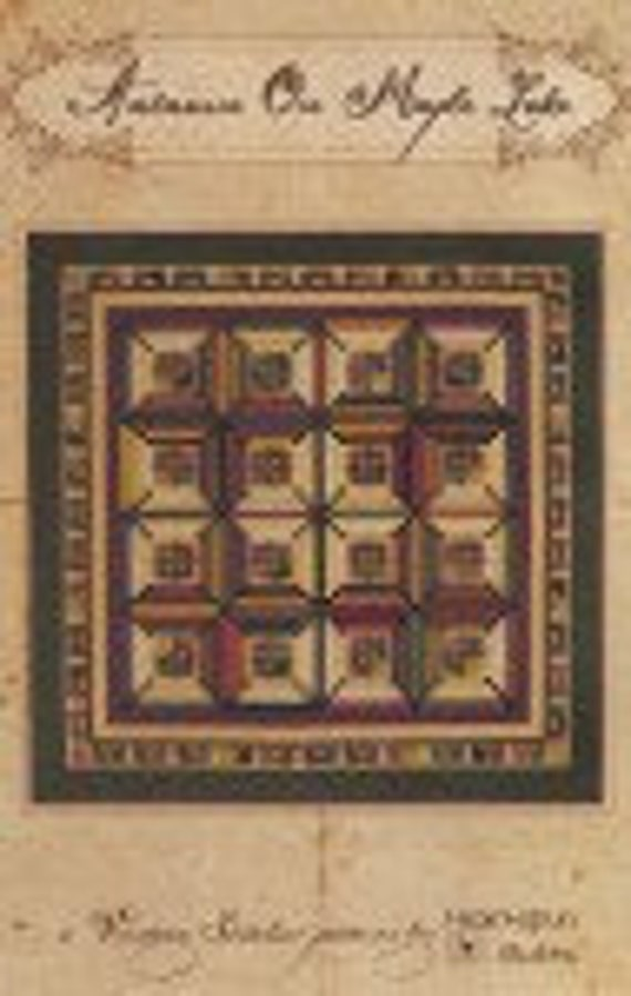 Autumn On Maple Lake Heartspun Quilts Pattern Only