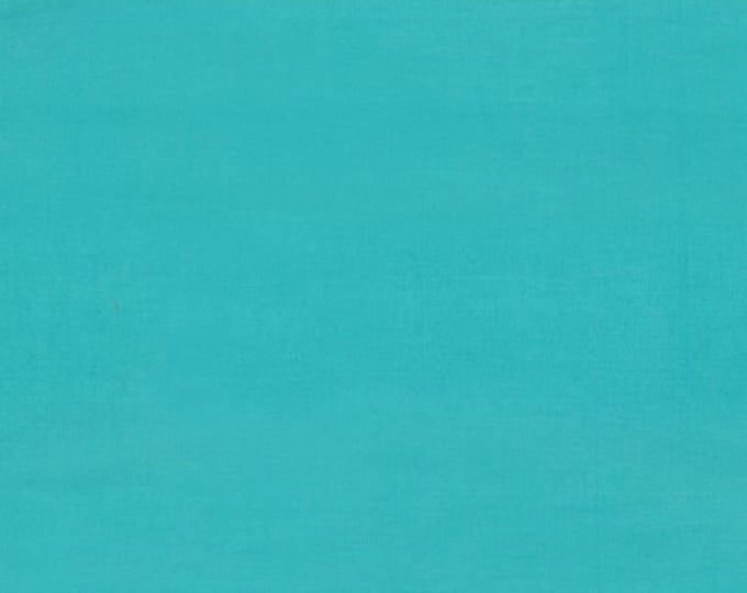 """Solid Light Teal Batik from Wilmington Prints #147 100% cotton 44/45"""" wide fabric"""