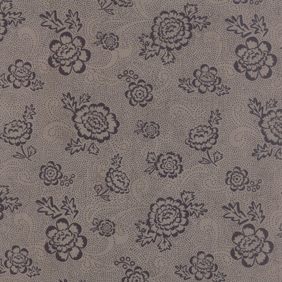 Black Tie Affair by Basic Grey 30424-16 Floral Whimsy Floral Grey Moda 100% Cotton Fabric