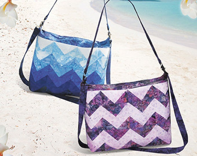 "Aruba Bag Precut Friendly 13""w x 11""t x 3"" deep. Pink Sand Beach Pattern Only"