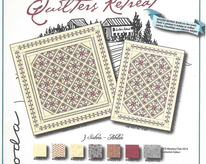 BCS Mystery Quilt Club Quilters Retreat 2014 Pattern Only