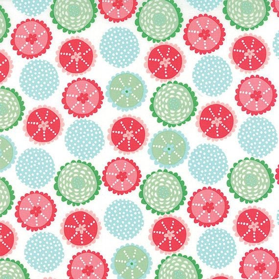 "Coral Queen Of The Sea by Stacy Iest Hsu for Moda  20514-11  44"" Wide 100% Cotton"