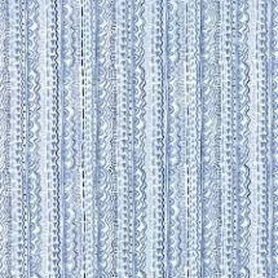 Aria Kate Spain Blue Stripe 27237-16  Moda  44-inch Wide Cotton Fabric Yardage 100% cotton
