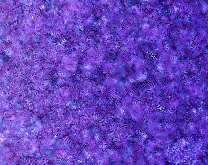 "Effervescence by Dan Morris for QT Fabrics 28159-V Purple  100% cotton 44/45"" wide fabric"