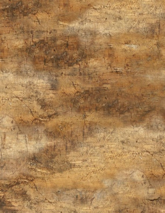 "FLANNEL Welcome Cabin Forest Texture Brown by Wilmington Prints  44"" wide 100% Cotton Fabric"