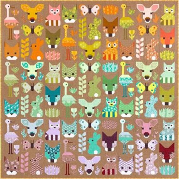 Elizabeth Hartman's Delightful Desert Pattern Only