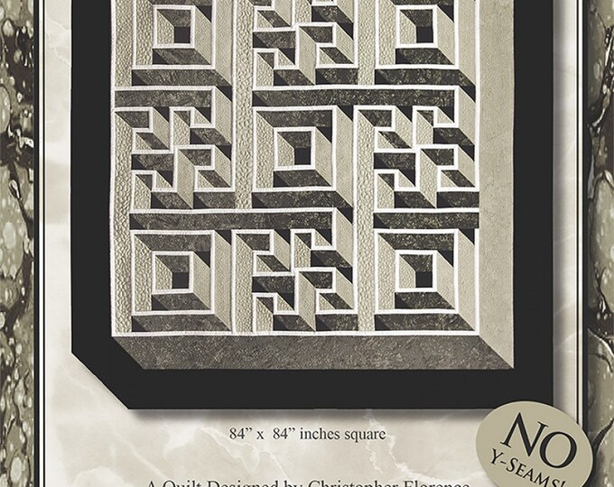 Labyrinth Walk Pattern Only by The Guilty Quilter
