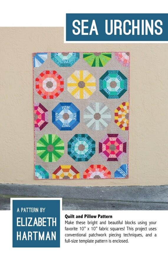 Elizabeth Hartman Sea Urchins Quilt Pattern Only