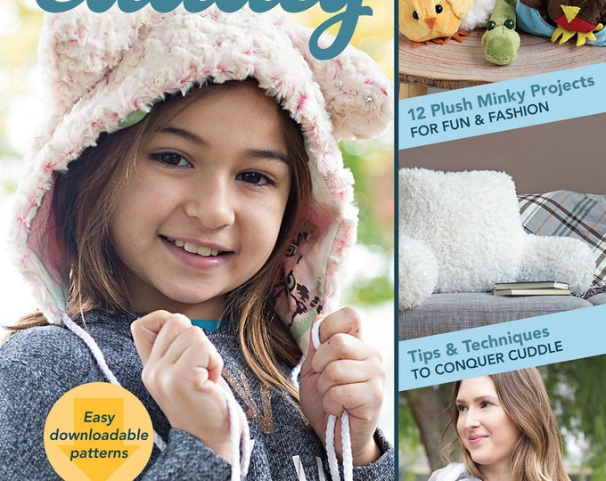 Sew Cuddly 12 Plush Minky Projects by Judy Gauthier - Paperback