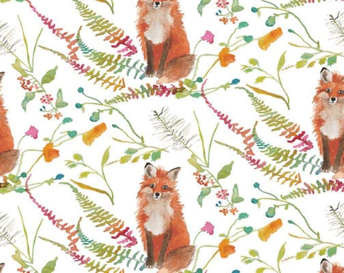 "CANVAS ** Fox Wood by  Windham Fabrics  51919C-1  Fox   100% Cotton 44""/45"" Wide"