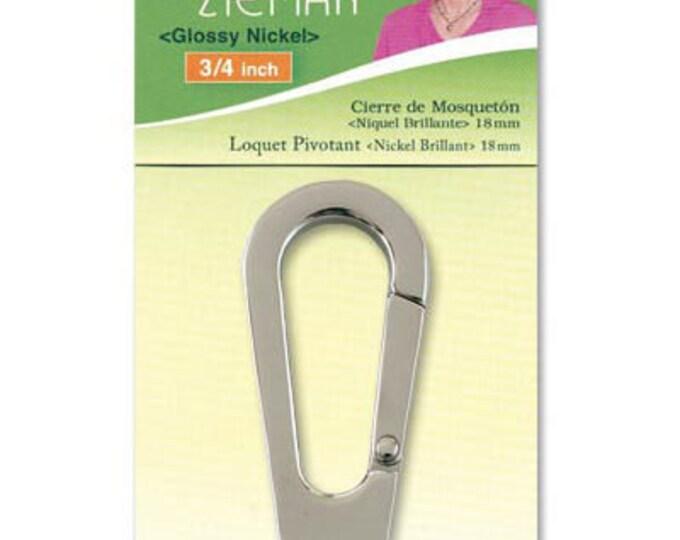 Clover - Swivel Latch Gloss Nickel  9544 3/4 inch Nancy Zieman