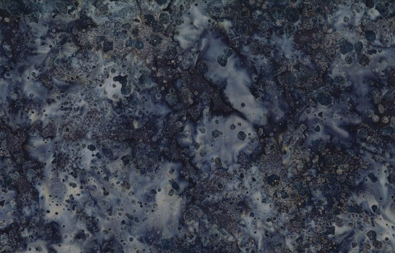 "Coconut Stick Splatter Dark Gray Batik from Wilmington Prints #999 100% cotton 44/45"" wide fabric"