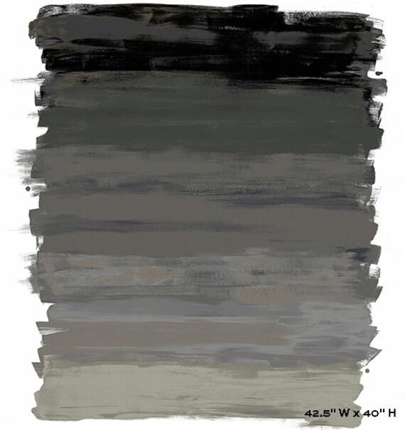 "Paint Art Panel  - Black color - by Andover Fabrics 40"" x 45"" 100% cotton"