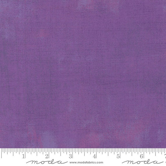 Moda Basic Grey Grunge Grape 30150-239 44-inch Wide Cotton Fabric Yardage