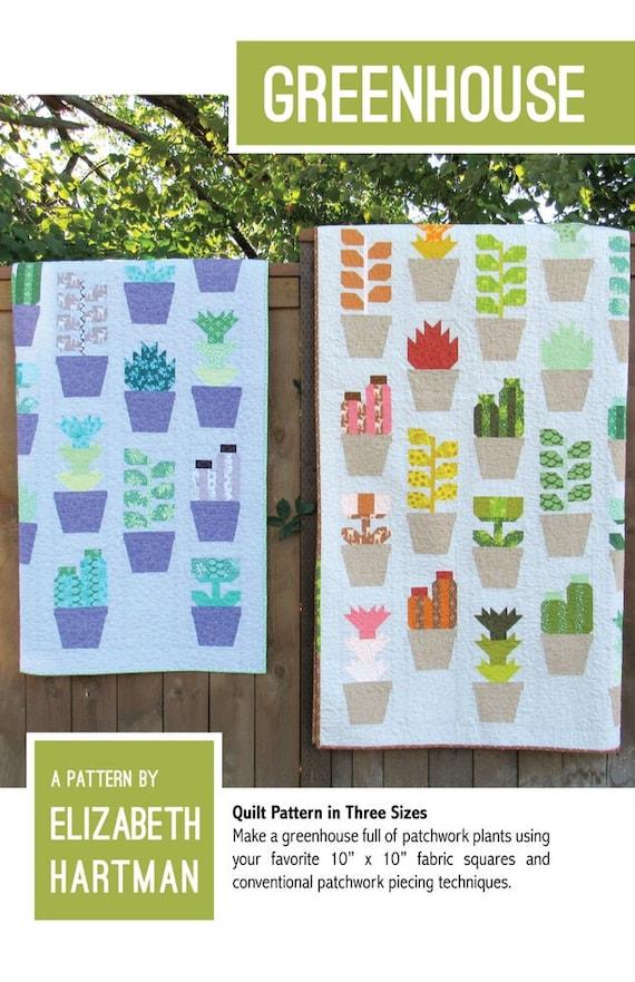 Elizabeth Hartman Greenhouse Quilt Pattern Only