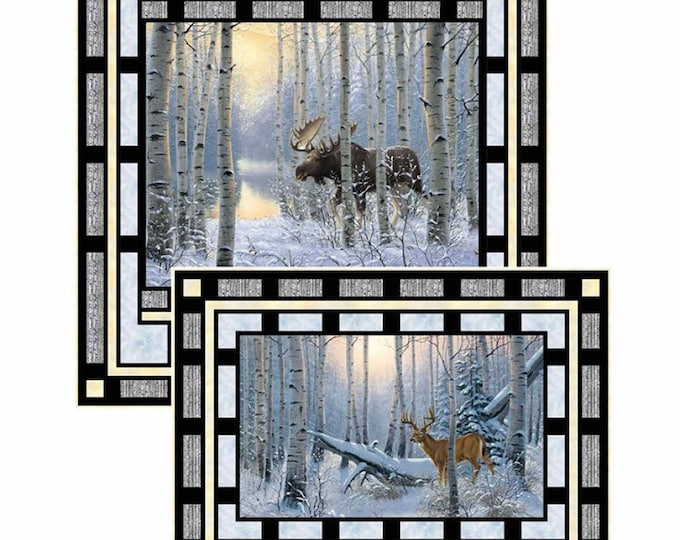 Framed & Finished Pattern for Panels or Running Yardage. 2 Sizes. Pattern Only