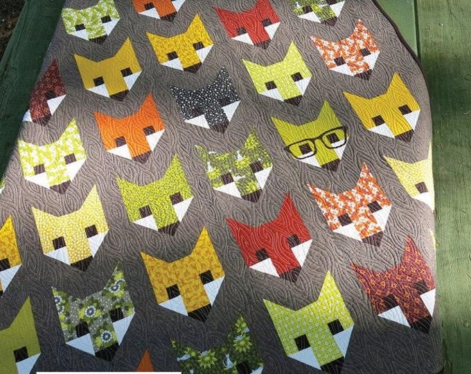 Elizabeth Hartman Fancy Fox EH-009 Quilt Pattern Only