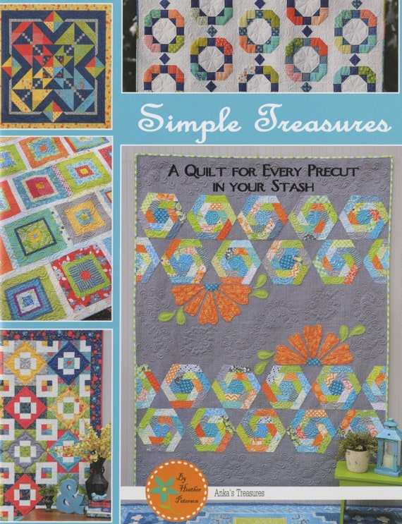 Simple Treasures by Heather Peterson for Anka's Treasures Paperback