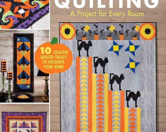 Spooktacular Halloween Quilting Soft Cover Book 48 Pages
