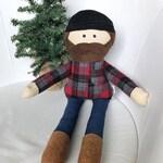 CUSTOM Lumberjack/ doll/ plush/ plushie/ gift